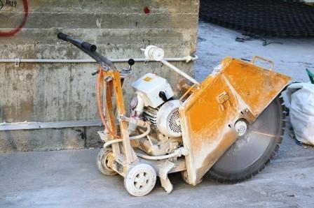 מכונת ניסור בטון שלנו